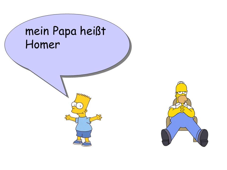 mein Papa heißt Homer