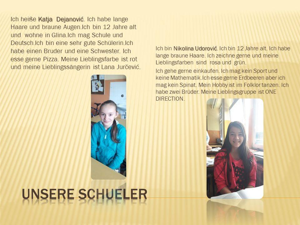  Unsere Schüler sind im Alter von 6 bis 15 Jahren von der 1. bis zur 8. Klasse. Deutsch ist hier die zweite Fremdsprache die die Schüler in unserer S
