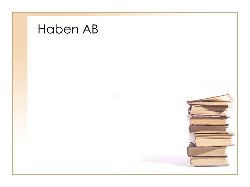 Haben AB
