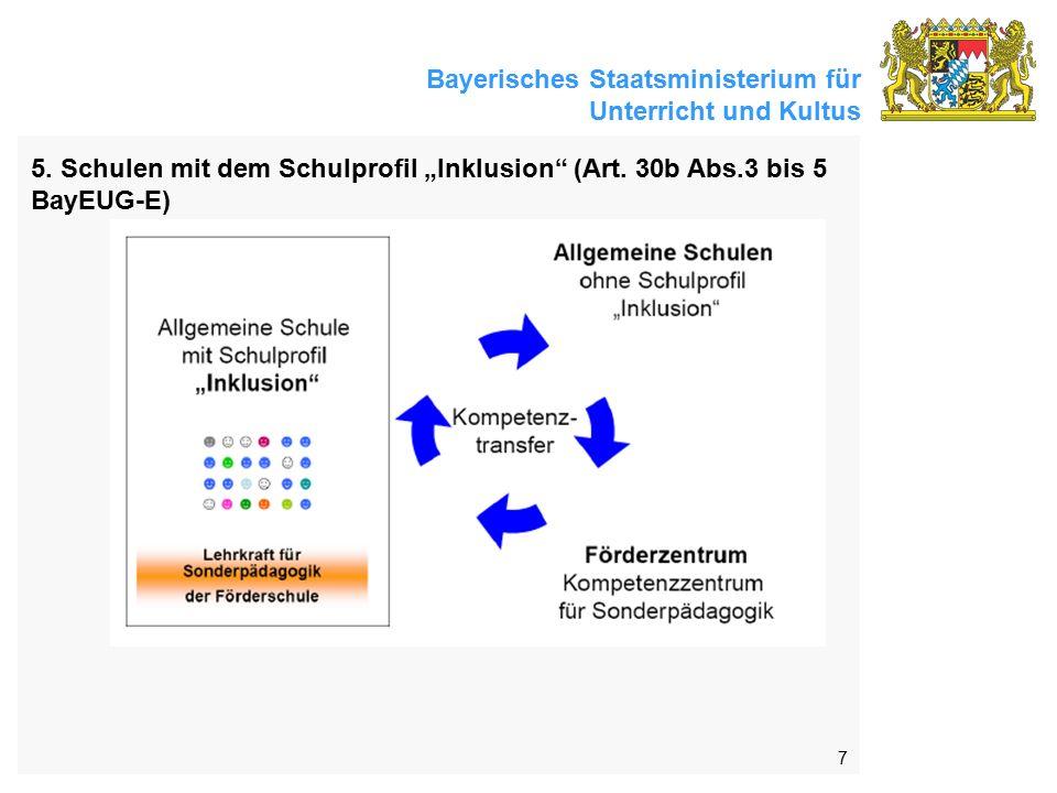Bayerisches Staatsministerium für Unterricht und Kultus 7 5.