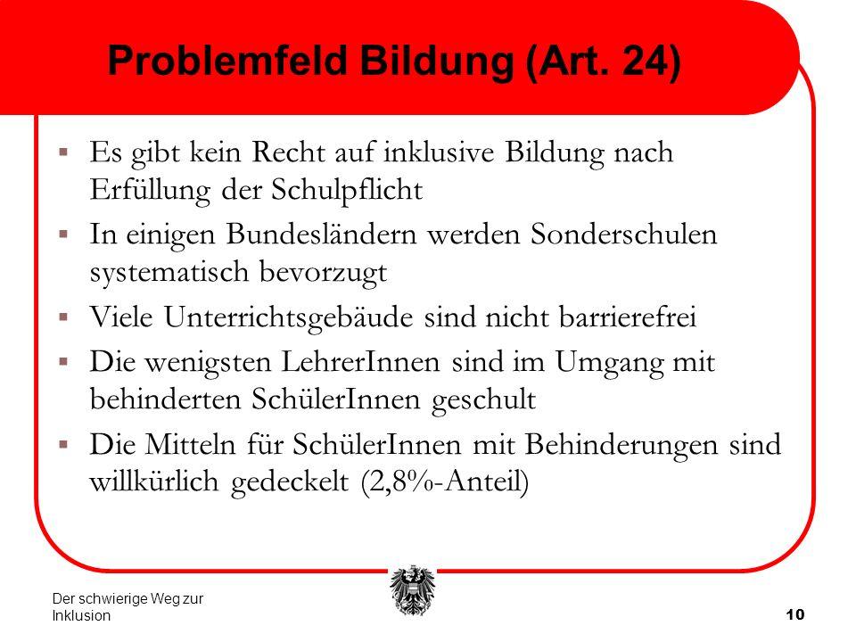 10 Problemfeld Bildung (Art.