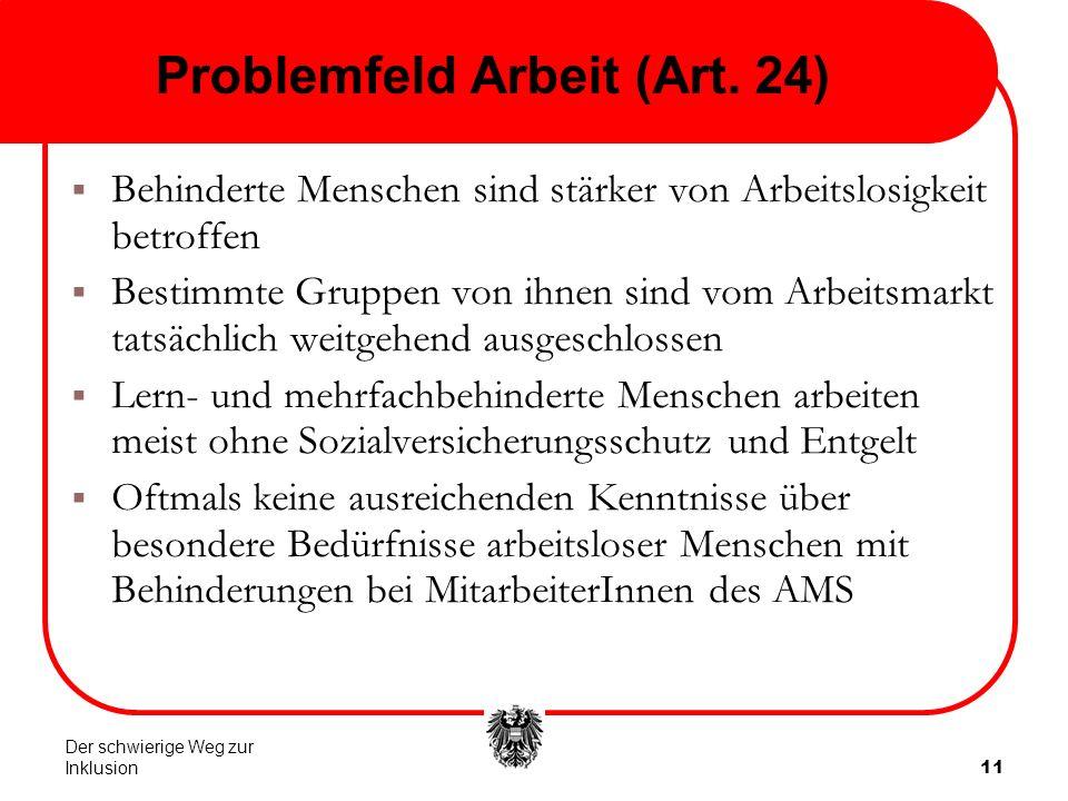 11 Problemfeld Arbeit (Art.