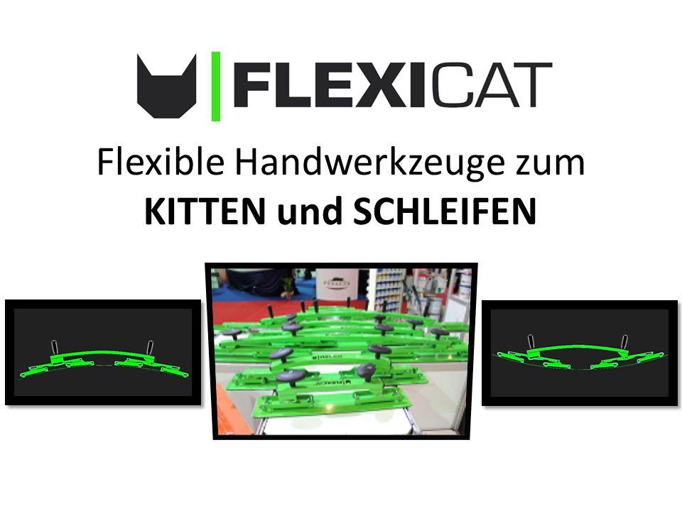 Flexible Handwerkzeuge zum KITTEN und SCHLEIFEN