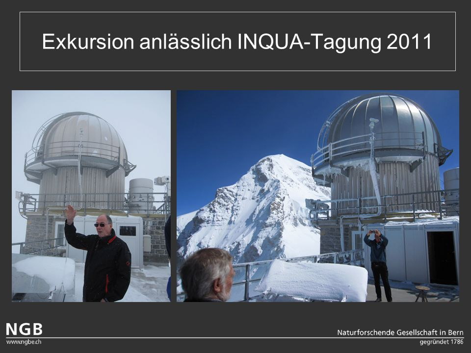 Exkursion anlässlich INQUA-Tagung 2011