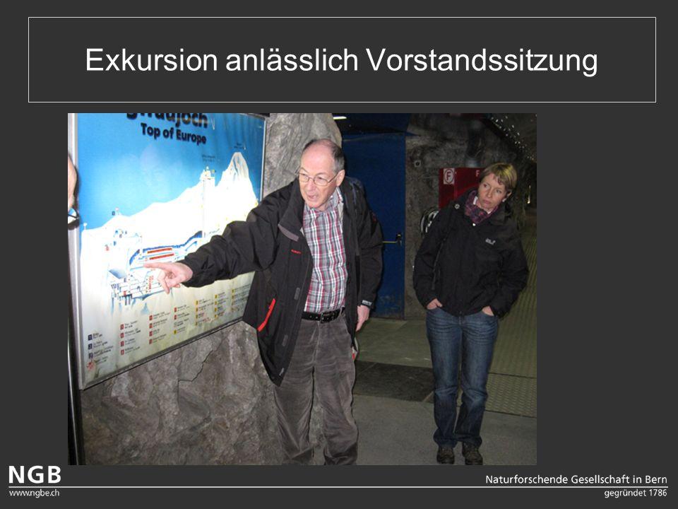 Exkursion anlässlich Vorstandssitzung