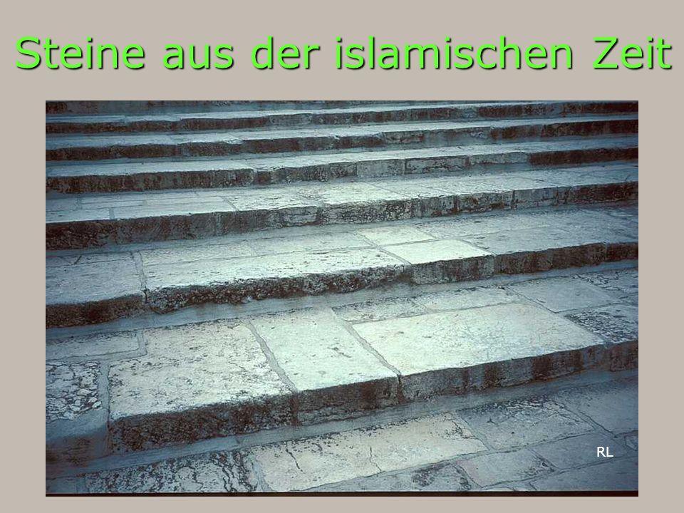 Steine aus der islamischen Zeit RL