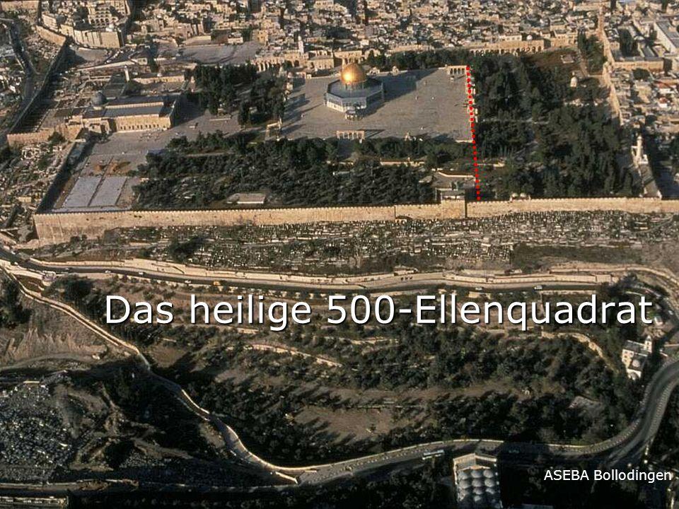 ASEBA Bollodingen Das heilige 500-Ellenquadrat