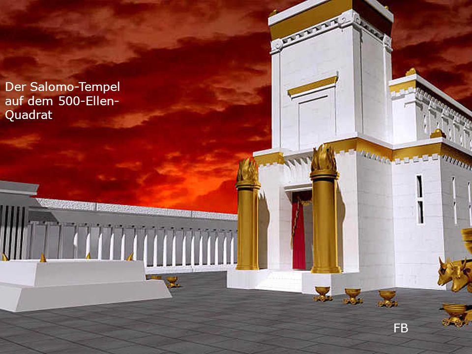 FB Der Salomo-Tempel auf dem 500-Ellen- Quadrat
