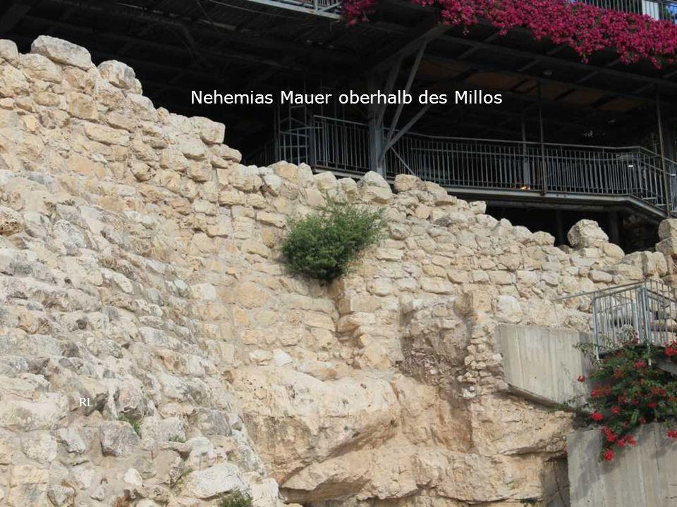 RL Nehemias Mauer oberhalb des Millos