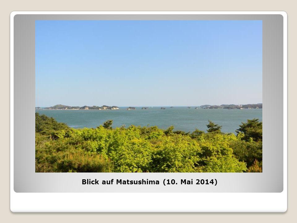 Blick auf Matsushima (10. Mai 2014)
