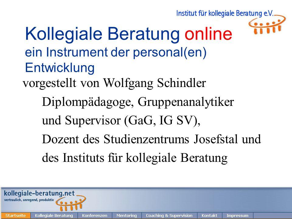 © 2010 W. Schindler 22 Mentoring