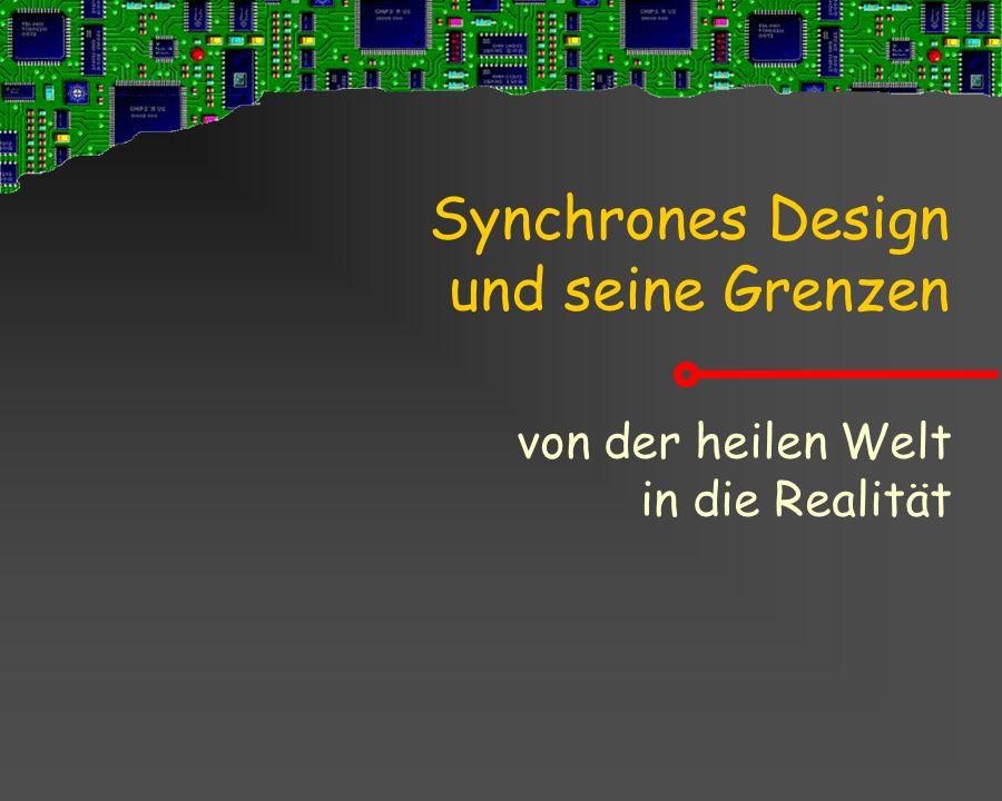 Synchrones Design und seine Grenzen von der heilen Welt in die Realität