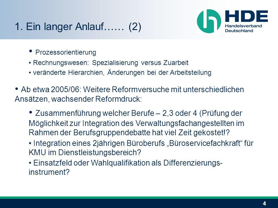 4 Prozessorientierung Rechnungswesen: Spezialisierung versus Zuarbeit veränderte Hierarchien, Änderungen bei der Arbeitsteilung Ab etwa 2005/06: Weite