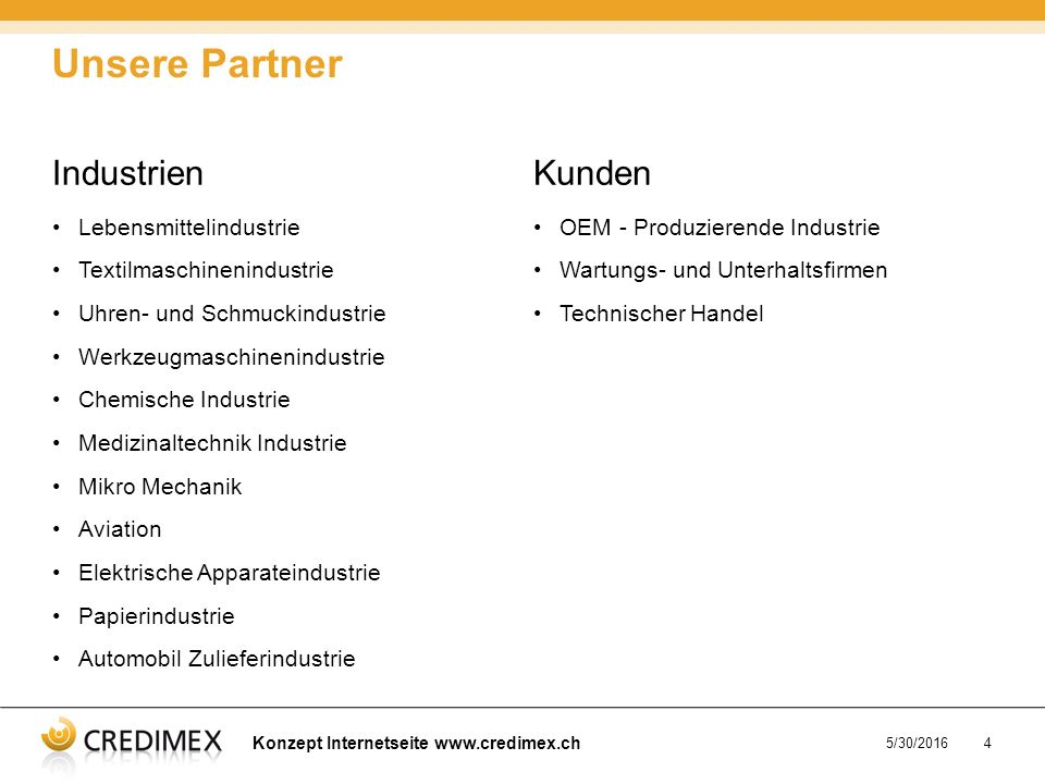 Konzept Internetseite www.credimex.ch 5/30/20165 Organisation Chart valid from June 2008