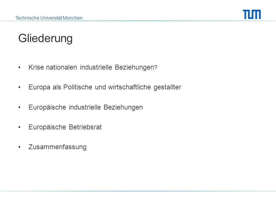 Technische Universität München Europäische Betriebsrat Welche Unternehmen sind von der Richtlinie betroffen?Welche Unternehmen sind von der Richtlinie betroffen.