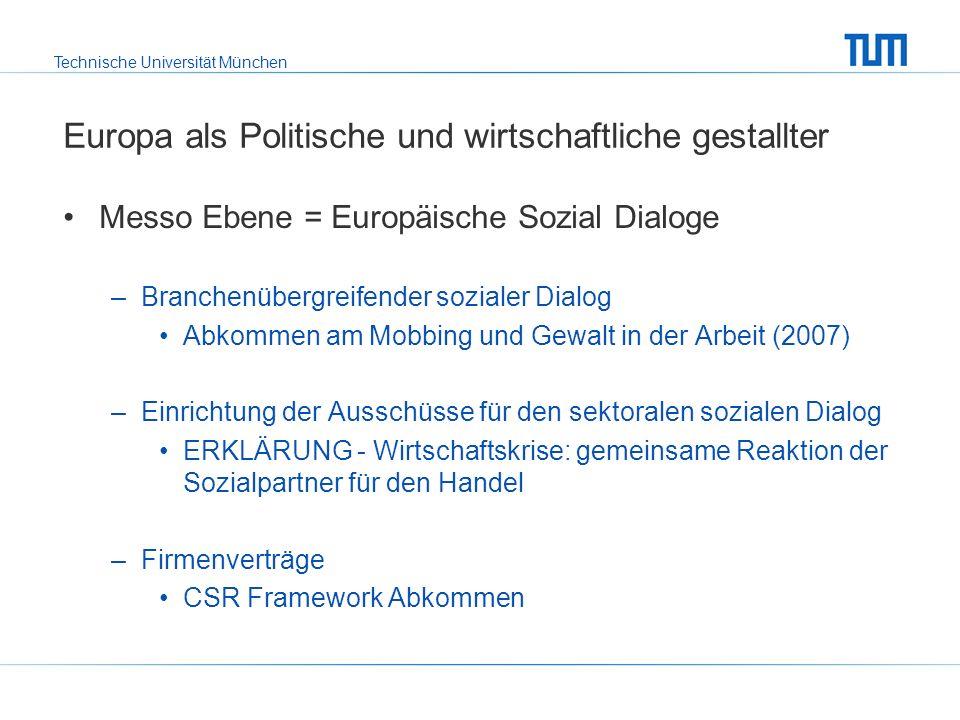 Technische Universität München Das transnationale System des EBR Was ist der EBR.