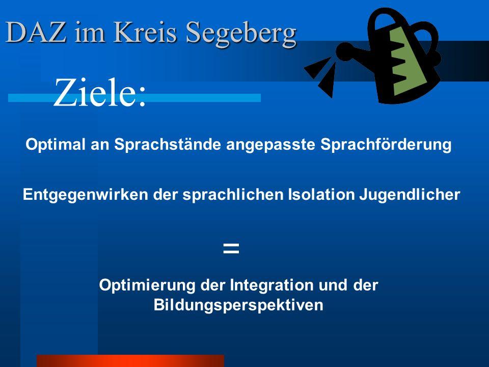 DAZ Stufe 2 Nahe Einzugsbereich Gemeinschaftsschule mit Grundschulteil im Amt Itzstedt Grundschule Seth