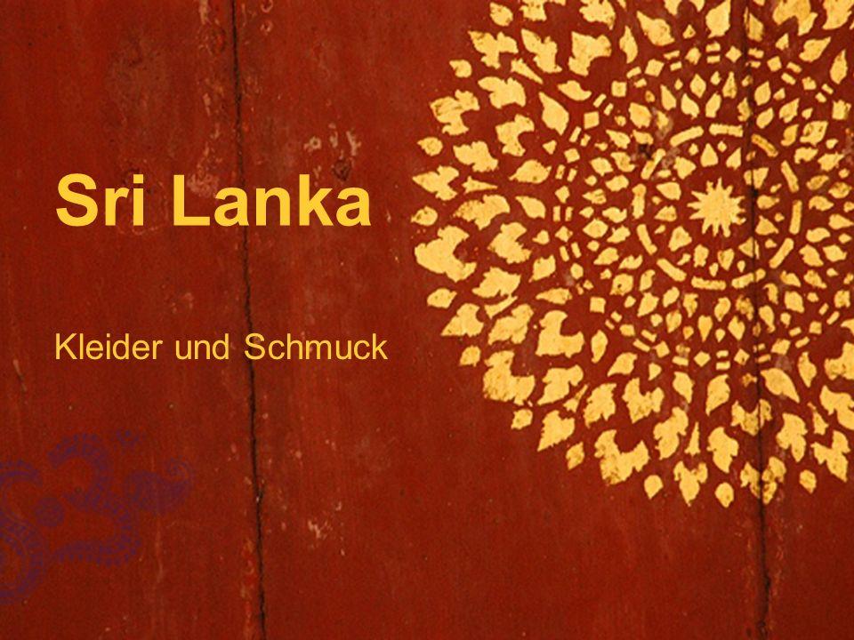  Sri Lanka Kleider und Schmuck