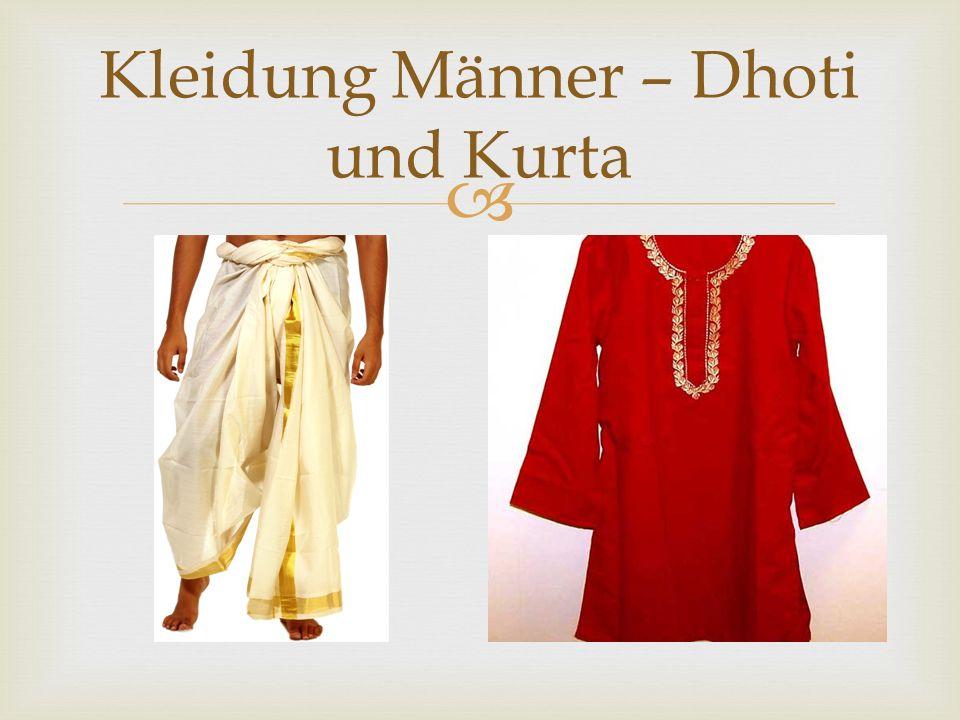  Kleidung Männer – Dhoti und Kurta