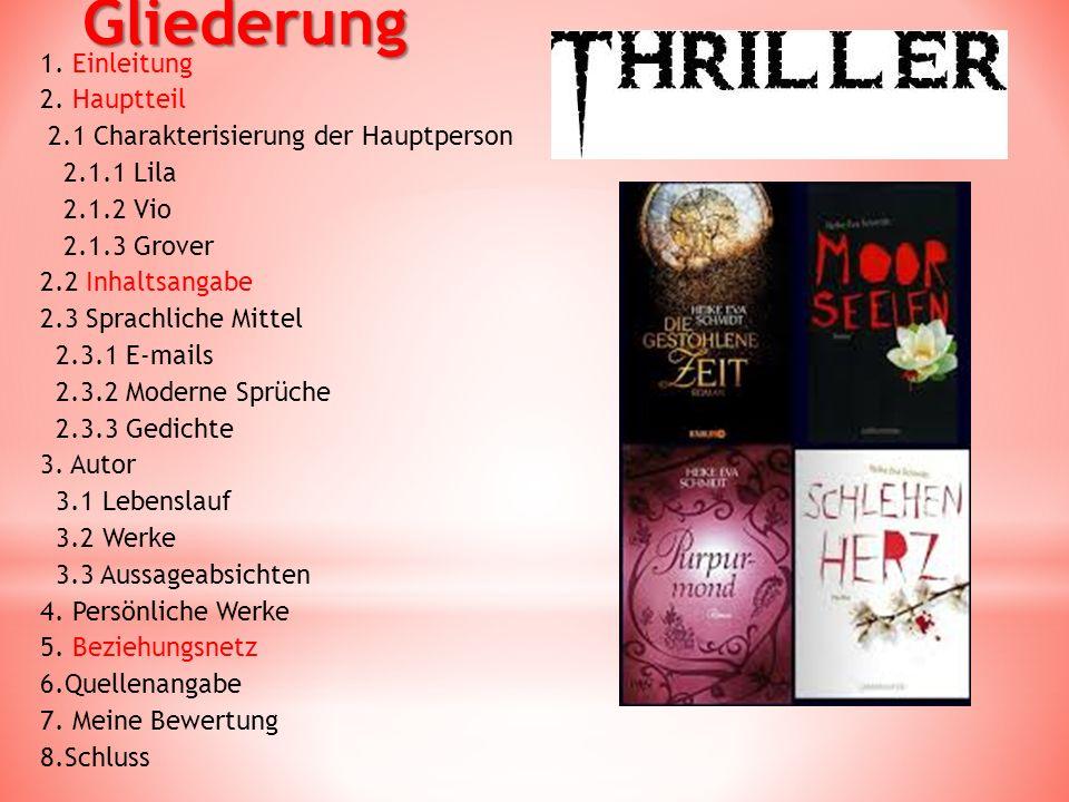 Einleitung  Erscheinungsjahr: 2012  Keine Englische Ausgabe  Ueberreuter Verlag  Erfolgreicher Jugend Thriller