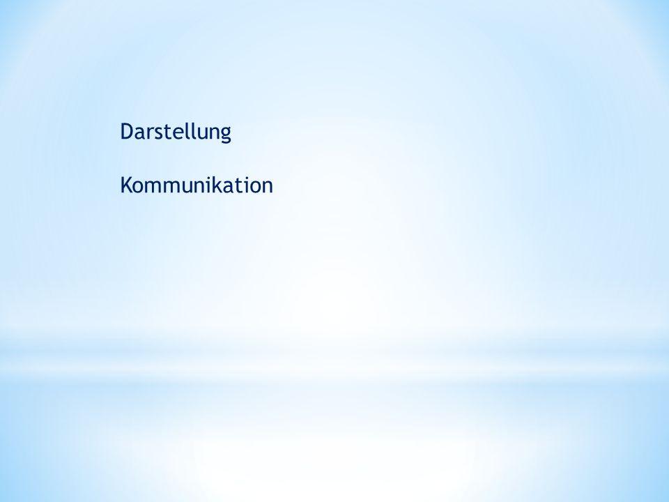 Darstellung Kommunikation