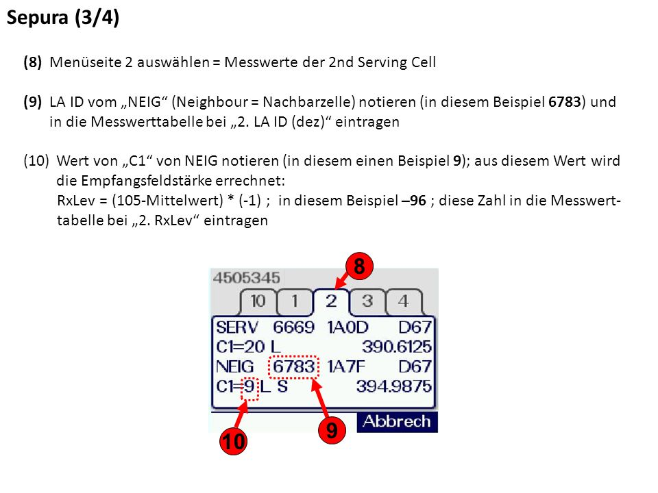 Sepura (4/4) (11)Die TEI des Gerätes befindet sich auf der Oberseite der Sende-/Empfangseinheit (MRT oder FRT).