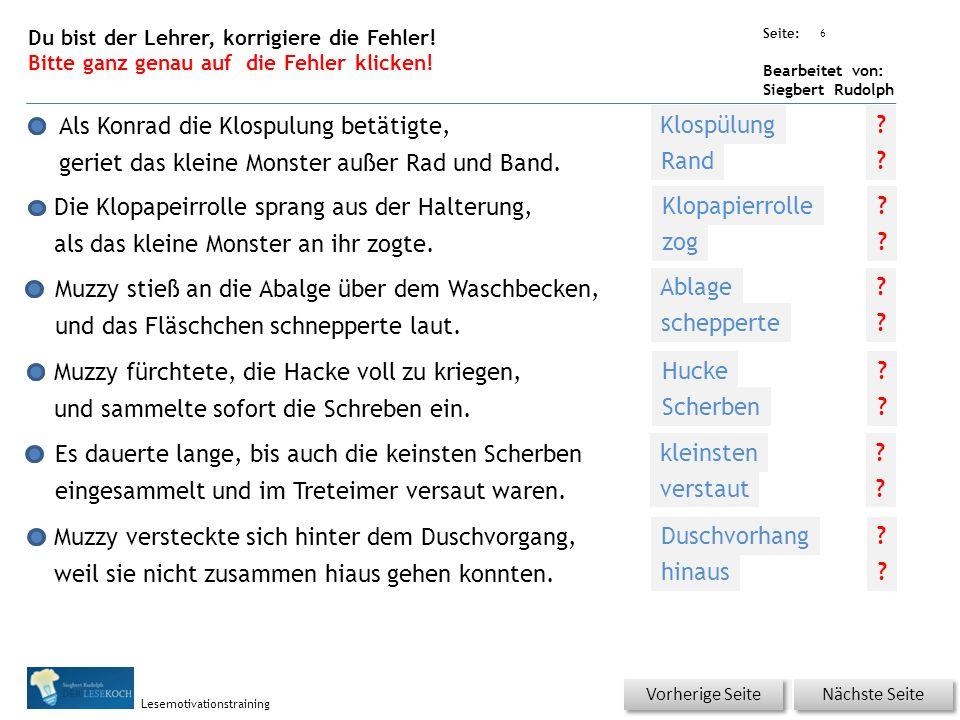 Übungsart: Seite: Bearbeitet von: Siegbert Rudolph Lesemotivationstraining Was bedeutet, außer Rand und Band zu geraten.