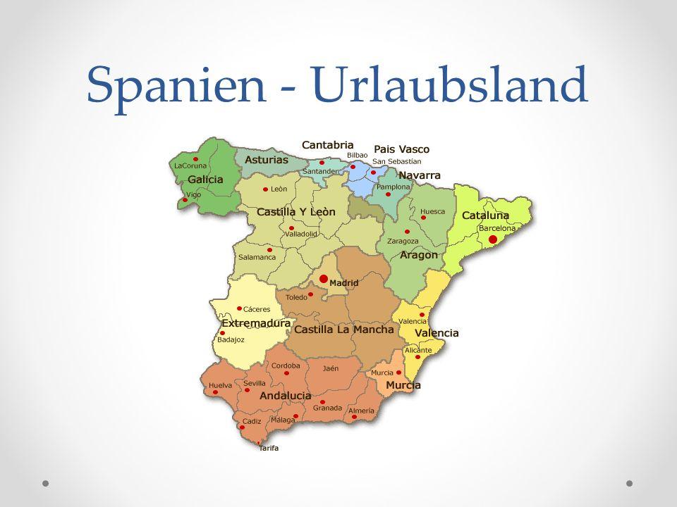 Spanien - Urlaubsland
