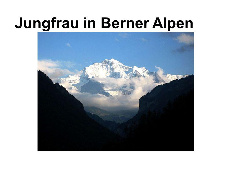 Jungfrau in Berner Alpen