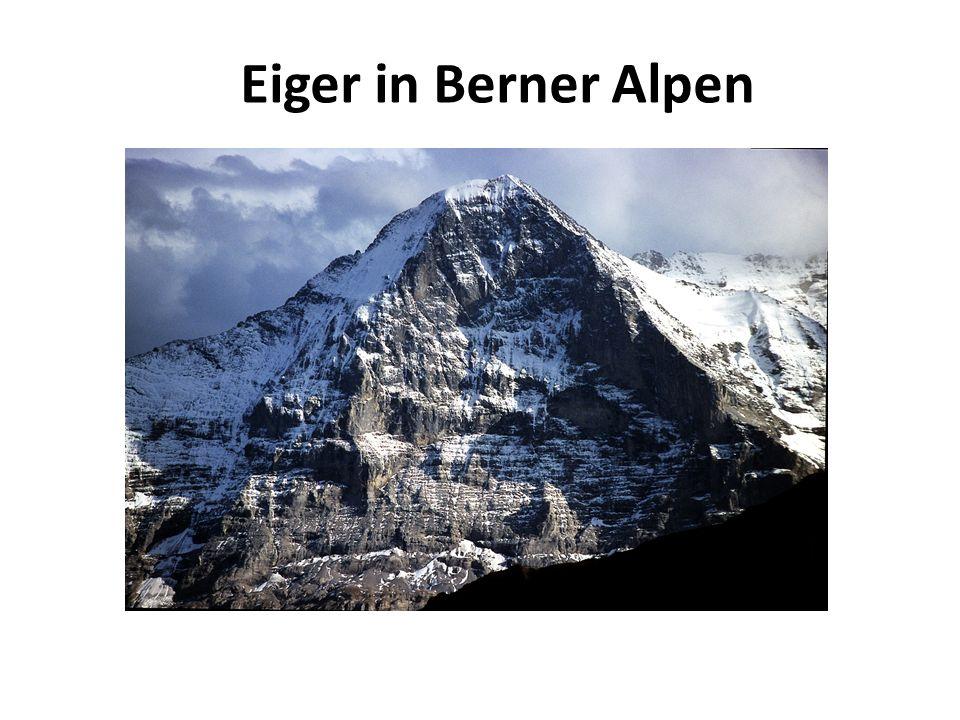 Eiger in Berner Alpen