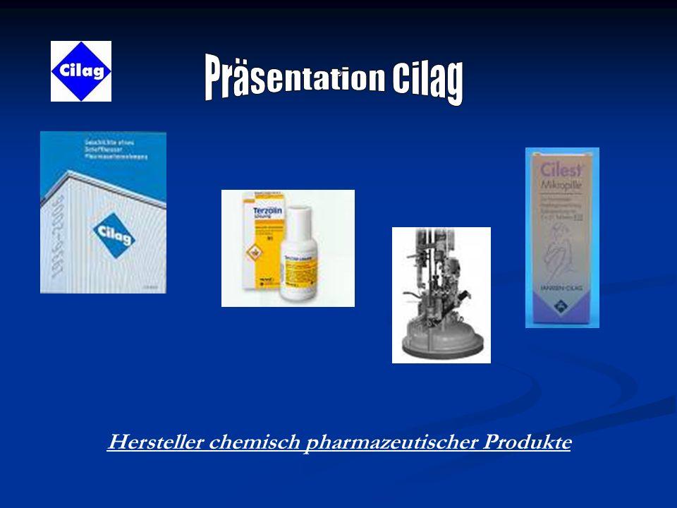 . Hersteller chemisch pharmazeutischer Produkte