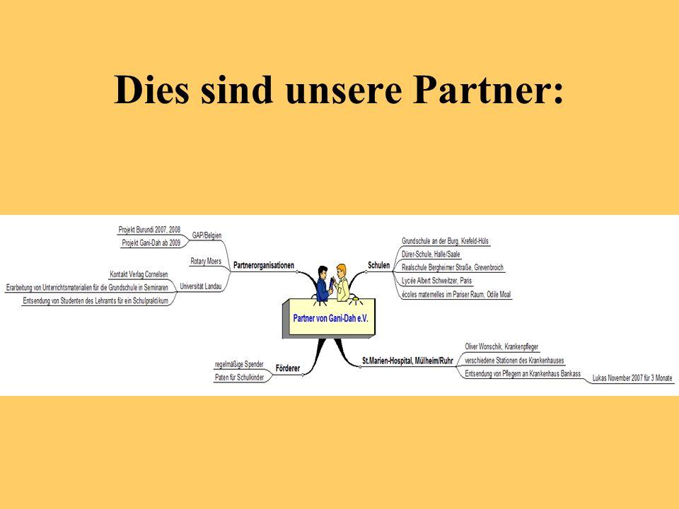 Dies sind unsere Partner: