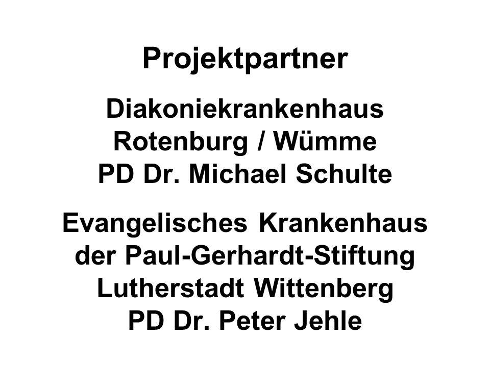 Projektpartner Diakoniekrankenhaus Rotenburg / Wümme PD Dr.