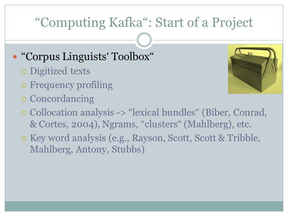Key Word Analysis: Caveats Caveats (cf.