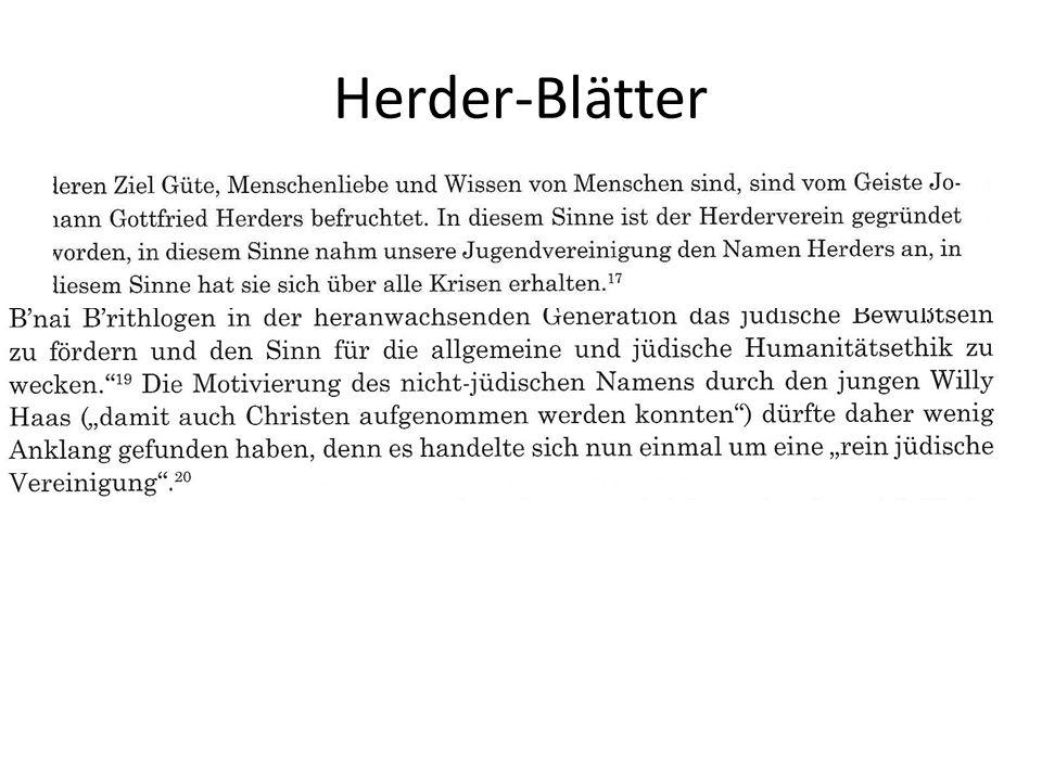 Herder-Blätter