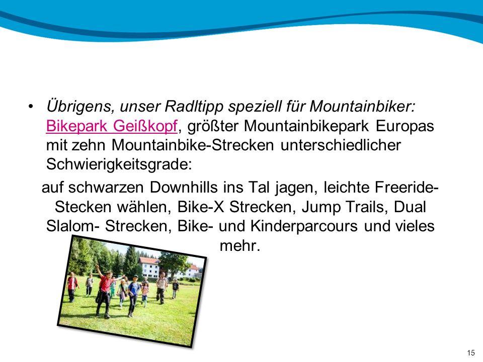 Besonderheiten / Highlights in der Umgebung 14 Der Große Arber ist der Hausberg von Bayerisch Eisenstein – für Sommervergnügen und Wintersport Grenzüb