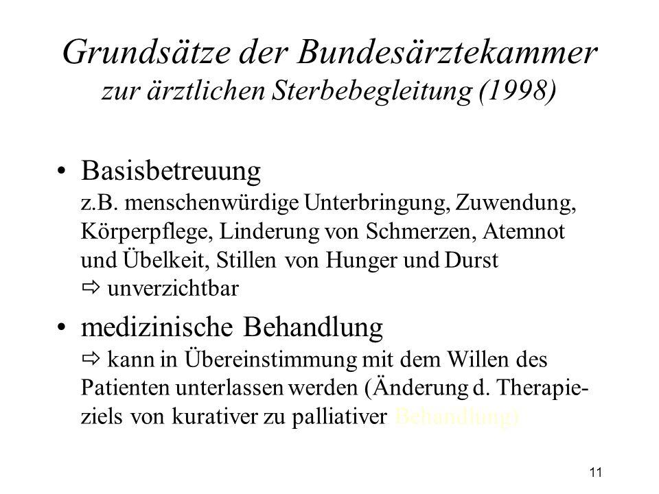 11 Basisbetreuung medizinische Behandlung z.B.