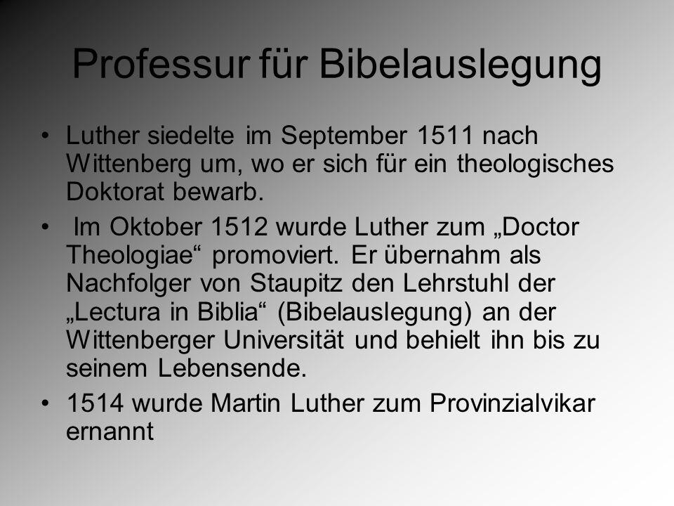 Reformatorische Wende In der Lutherforschung ist umstritten, wann Luther das Prinzip der Gerechtigkeit Gottes sola gratia (allein aus Gnade) zuerst entdeckte und formulierte.