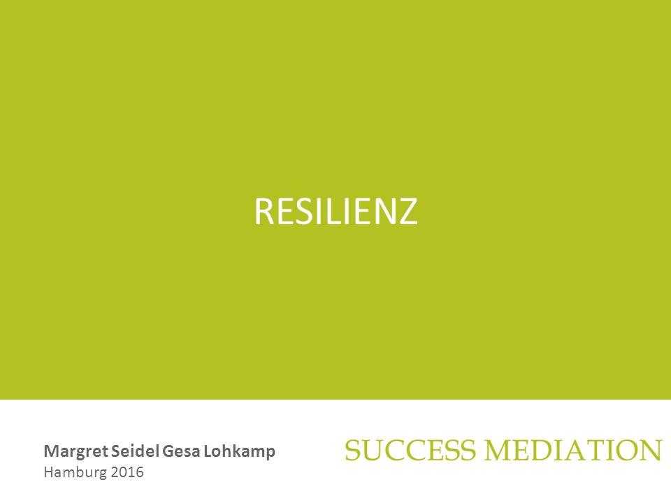 RESILIENZ Margret Seidel Gesa Lohkamp Hamburg 2016