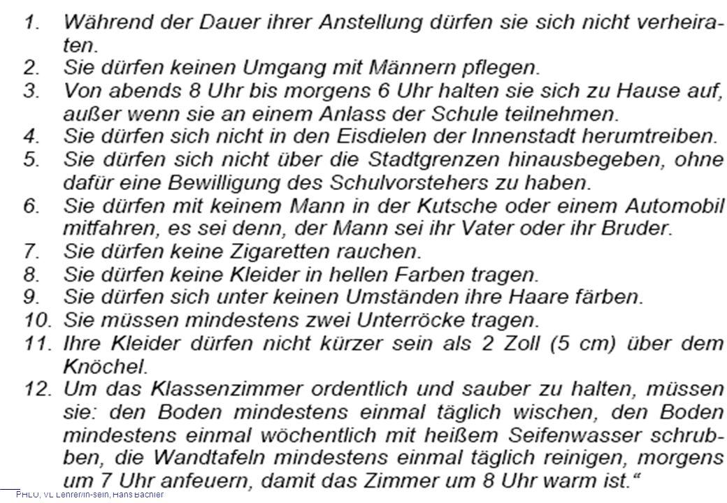 PHLU, VL Lehrer/in-sein, Hans Bächler