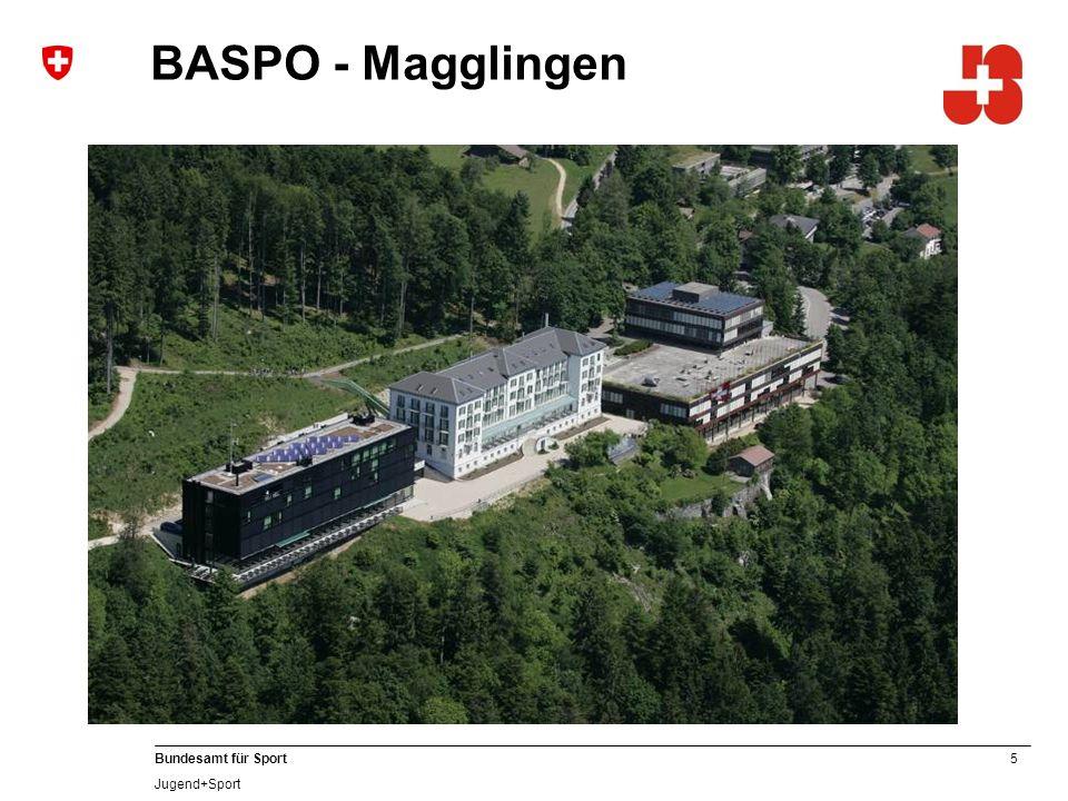 5 Bundesamt für Sport Jugend+Sport BASPO - Magglingen