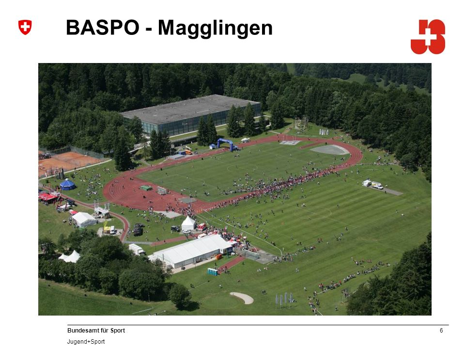 6 Bundesamt für Sport Jugend+Sport BASPO - Magglingen
