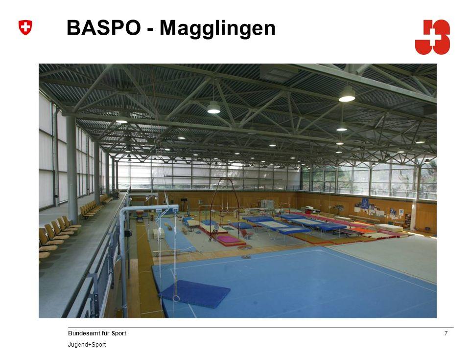 7 Bundesamt für Sport Jugend+Sport BASPO - Magglingen