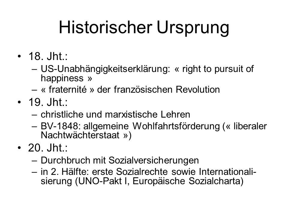 Historischer Ursprung 18.