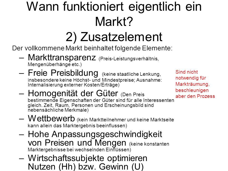 © Anselm Dohle-Beltinger 20074 Wann funktioniert eigentlich ein Markt.