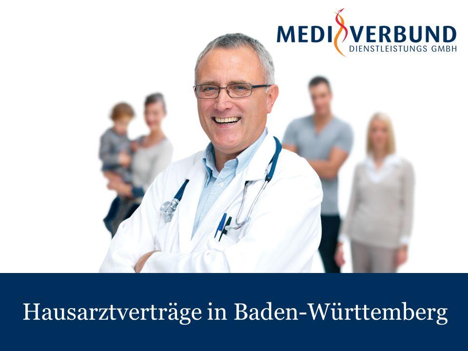 Hausarztverträge in Baden-Württemberg