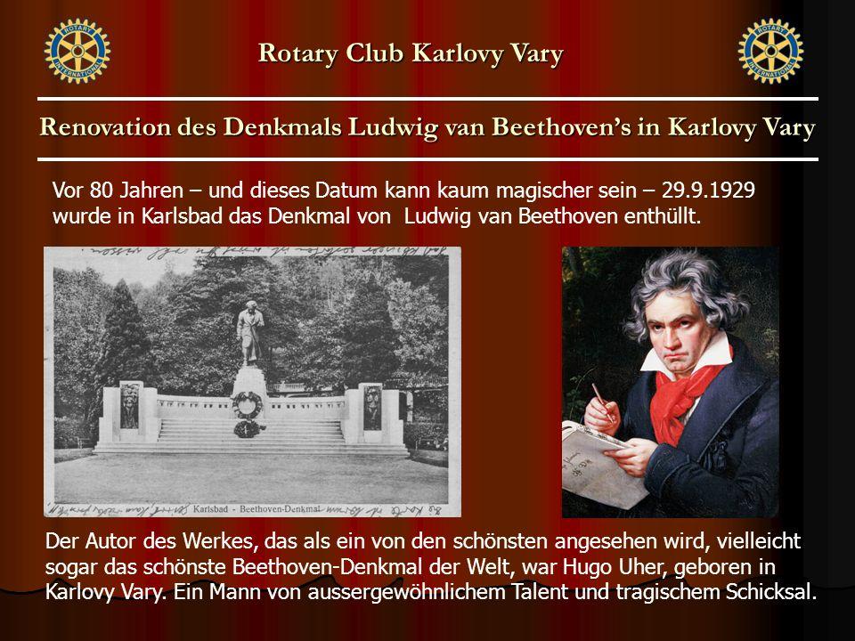 Vor 80 Jahren – und dieses Datum kann kaum magischer sein – 29.9.1929 wurde in Karlsbad das Denkmal von Ludwig van Beethoven enthüllt. Der Autor des W