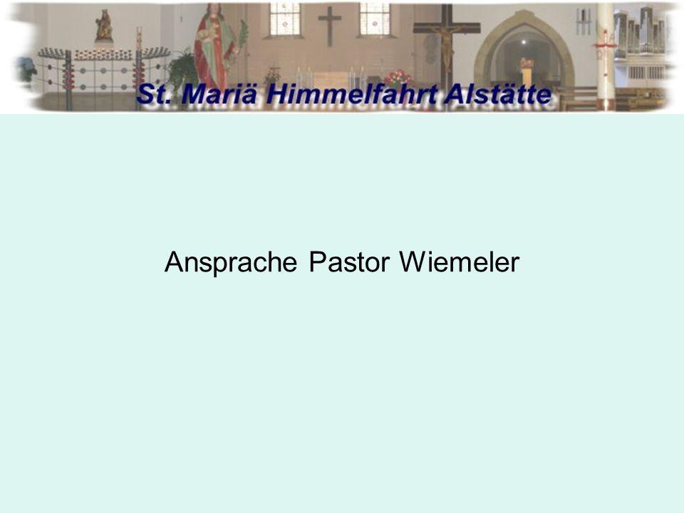 Genereller Ablauf einer Fusion: 2.Gemäß can.515 § 2 CIC wird der Priesterrat gehört.