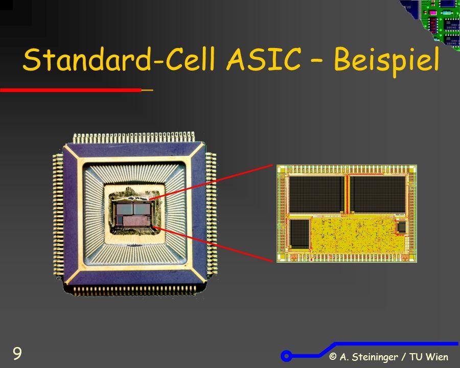 © A. Steininger / TU Wien 9 Standard-Cell ASIC – Beispiel