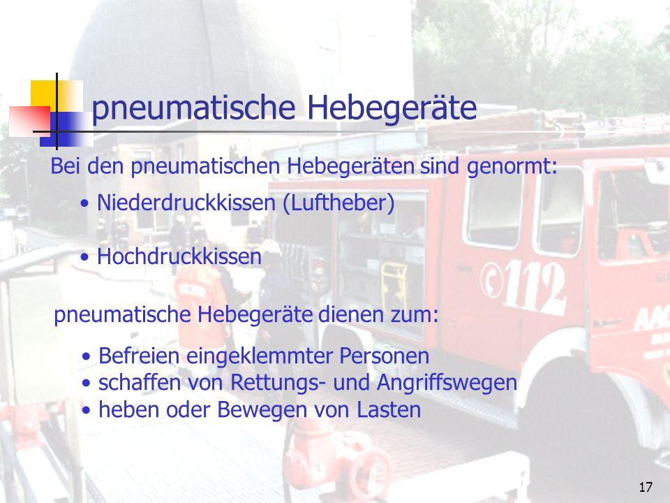 16 Feuerwehrleinen Länge:30 m Material:Kunstfasern Sie dient zum Retten von Personen, zum Selbstretten, zur Sicherung von Einsatzkräften und anderen Personen bei Absturzgefahr, als Sicherungs- und Signalleine für vorgehende Trupps sowie zum Hochziehen und Ablassen von Geräten.